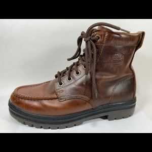 Timberland Leather Work Boots Mens 9.5M